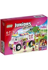 LEGO Juniors Camion De Crèmes Glacées d'Emma
