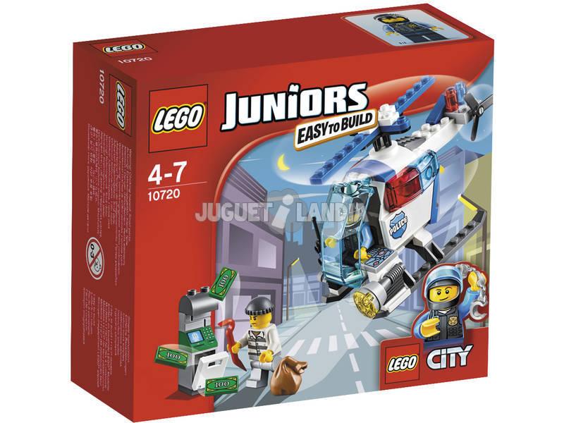 Lego Juniors Inseguimento sull'Elicottero della Polizia