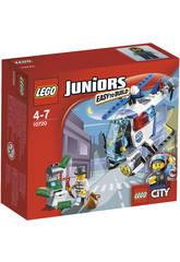 Lego Juniors Persecucion Helicoptero Policia