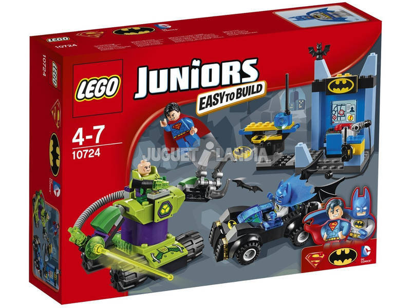 Lego Juniors Batman e Superman Vs Lex Luthor