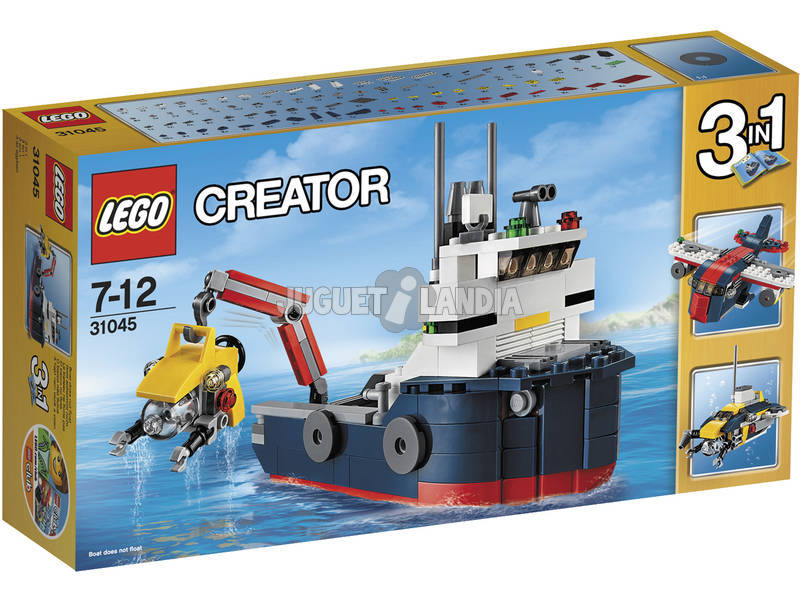 Lego Creator Explorador Oceánico