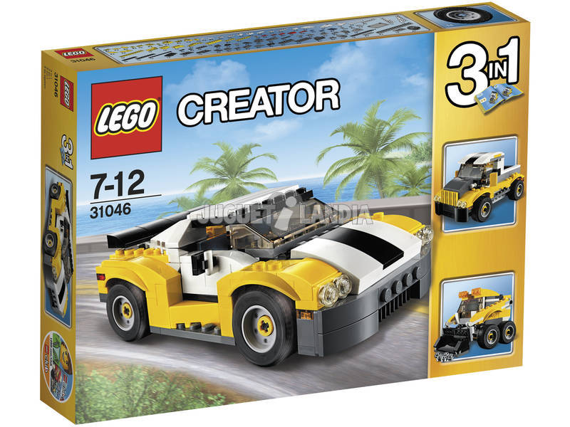 Lego Creator Desportivo Amarelo
