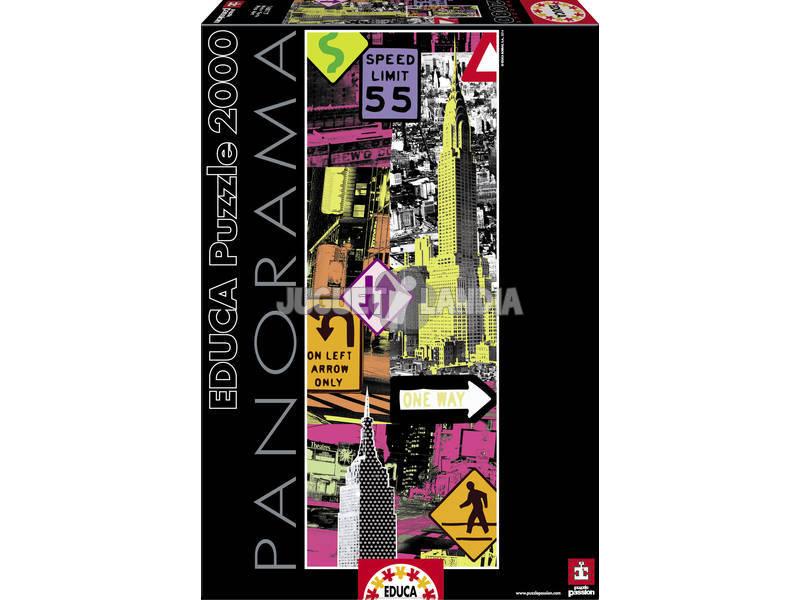 Puzzle 2000 New York Pop Art