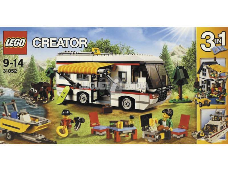 Lego Criador Férias Caravan 31052