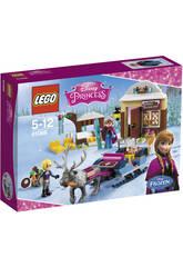 Lego Princesas Aventura en Trineo Anna y Kristoff