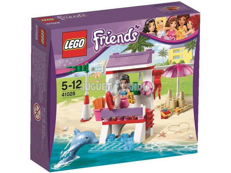 Lego Friends El Puesto de Socorrista de Emma