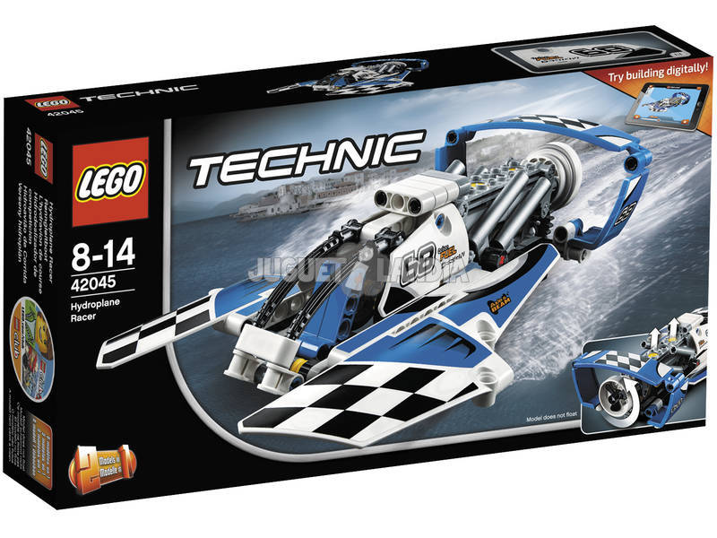 Competição Lego Technic Hydrofoil