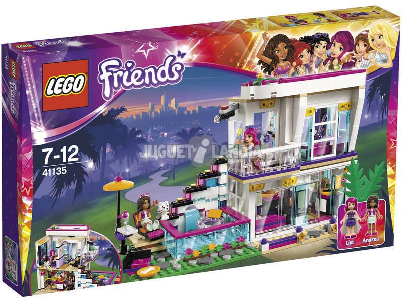 Lego Friends Pop Star Casa de Livi