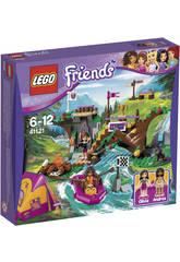 Lego Friends Campamento de Aventura Rafting