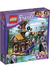 Lego Friends Campamento de Aventura Casa Arbol
