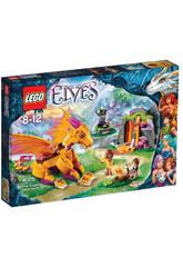 LEGO Elfes Grotte De Lave Du Dragon De Feu