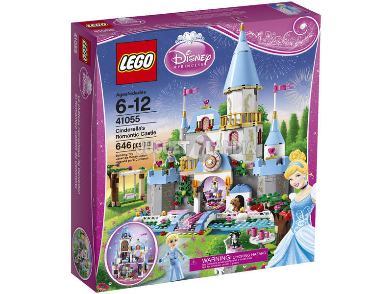Lego Princesas El Romantico Castillo Cenicienta