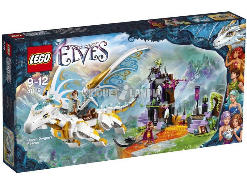Lego Elves Rescate del Dragón de la Reina