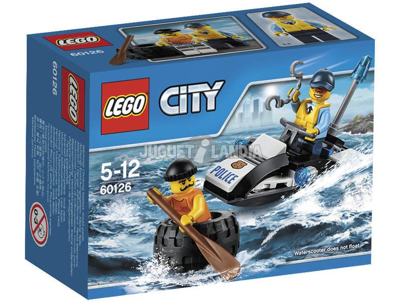 Lego City Fuga con gli pneumatici