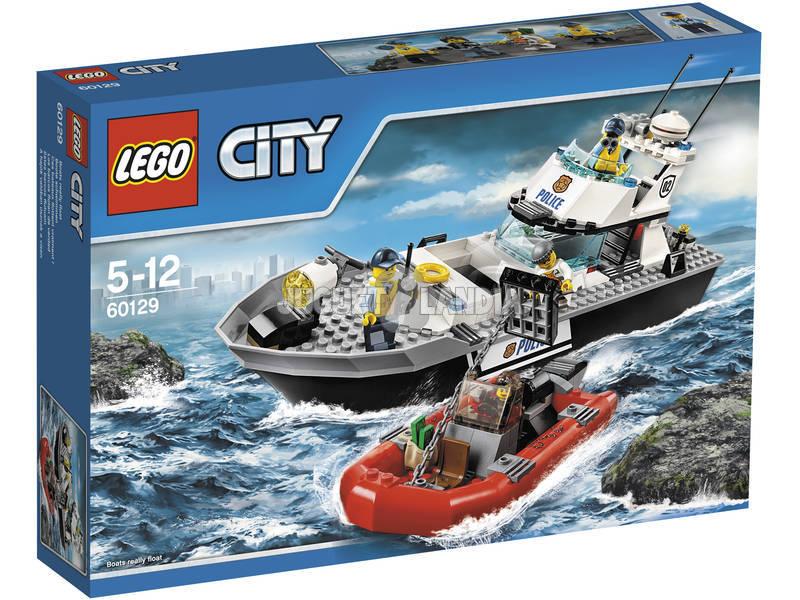 Lego City Barco Patrulla de la Policia
