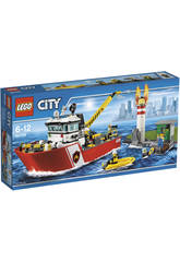 Lego City Barco de Bomberos