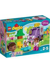Lego Duplo La Ambulancia Rosie de Doctora Juguetes