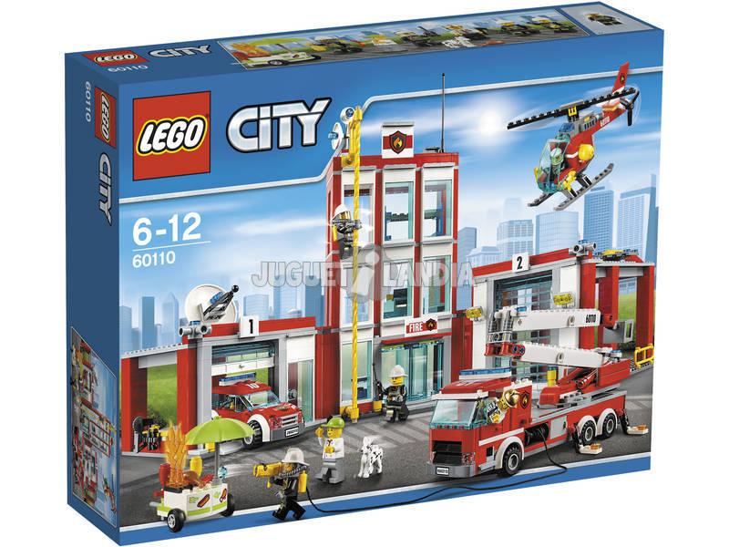 Estação de incêndio de Lego City 60110
