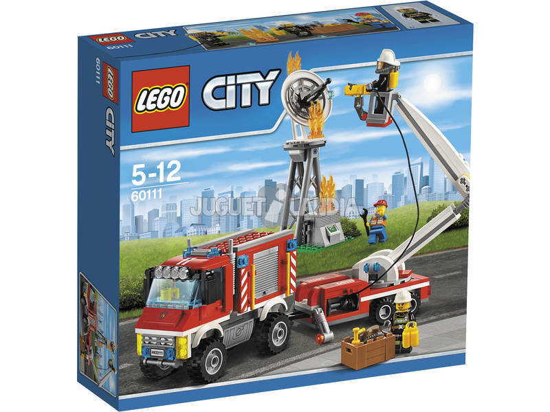 Lego City Camión de Bomberos Polivalente