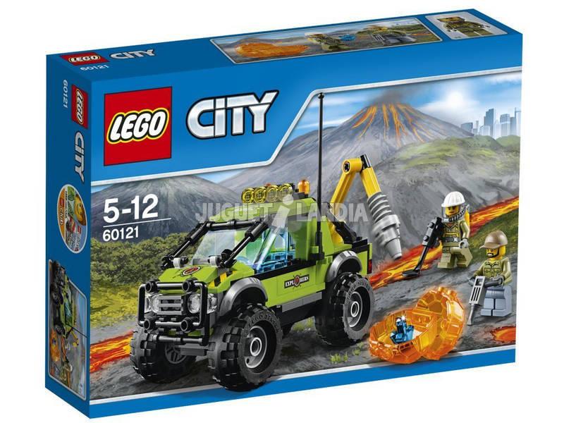 Lego City Volcán Camión de Exploración