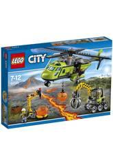 Lego City Volc�n Helic�ptero de Suministros