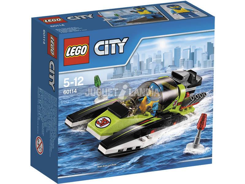 Lego City Lancha Rápida 60114
