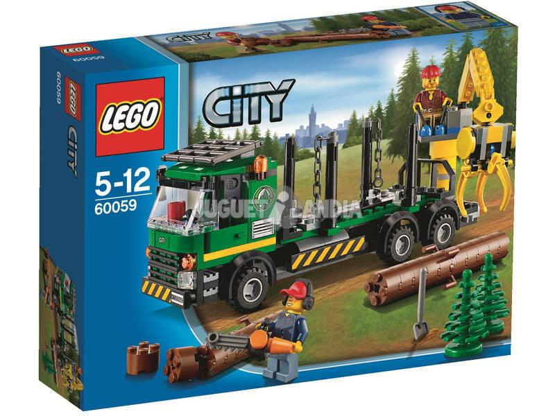 Lego City Camion de transport de troncs