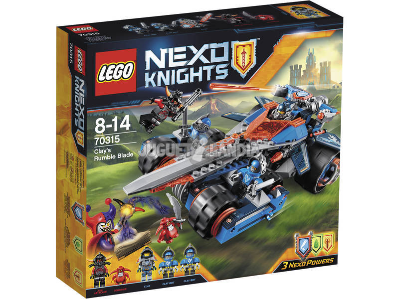 Lego Knights Espada Tronadora de Clay