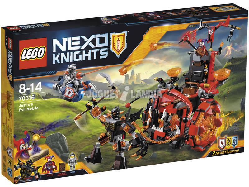 Lego Knights Il Carro Malefico di Jestro