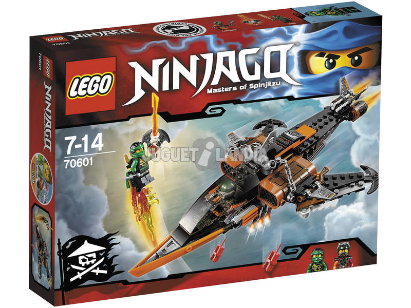 Lego Ninjago Tiburon Aereo