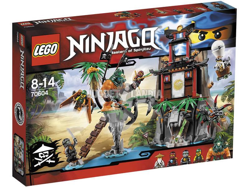 Lego L'île de la Veuve du Tigre
