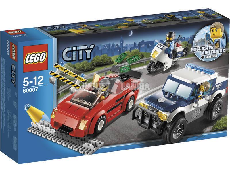 Lego City Persécution a toute Vitesse