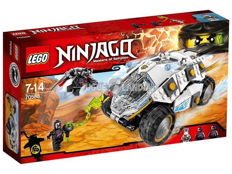 Lego Ninjago Tumbler di Titanio Ninja