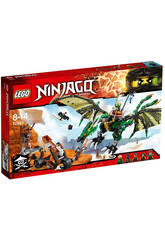 Lego Ninjago The Green NRG Dragón