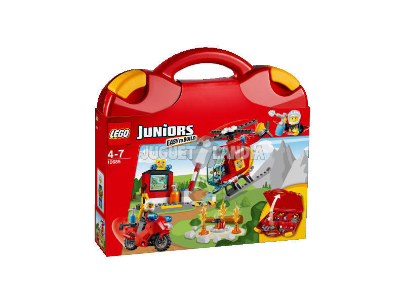 Lego Junior Valigetta dei Pompieri