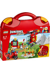 Lego Juniors Maletin de Bomberos
