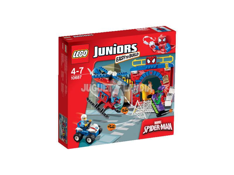 Lego Juniors Il Nascondiglio di Spider Man