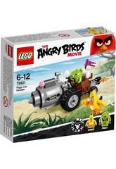 Lego Angry Birds Fuga En El Auto De Los Cerdos