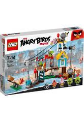 Lego Angry Birds Invasión a La Ciudad Cerdo