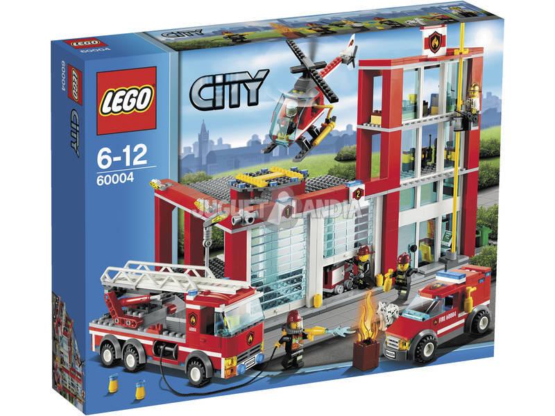 Lego City Station de pompiers