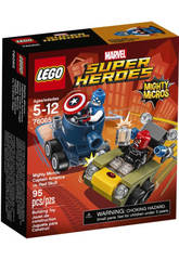 Lego SH Mighty Micros Capitan America vs C Rojo