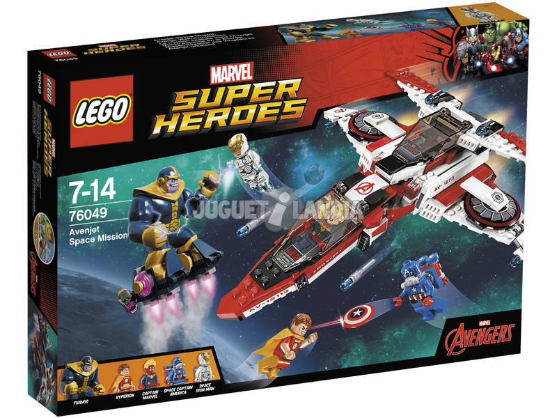 Lego SH Mision Espacial en el Avenjet