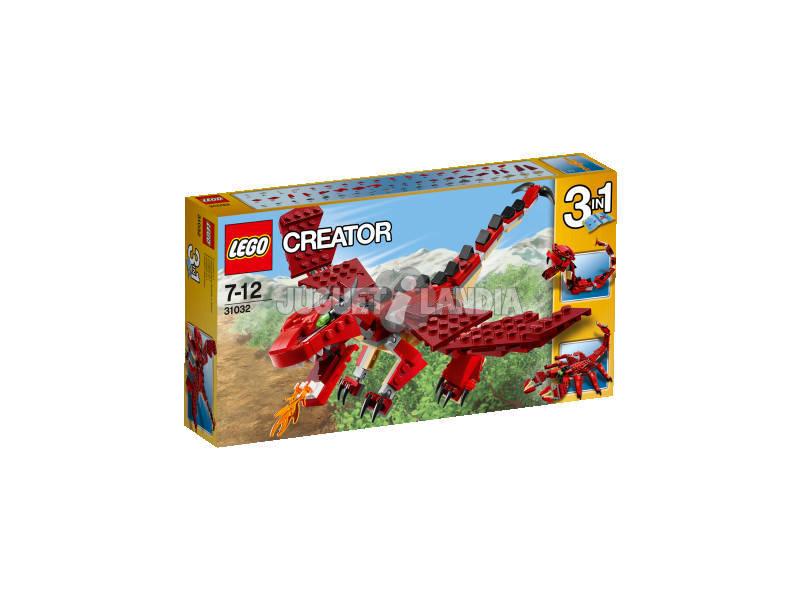 Lego Creator Criaturas Rojas