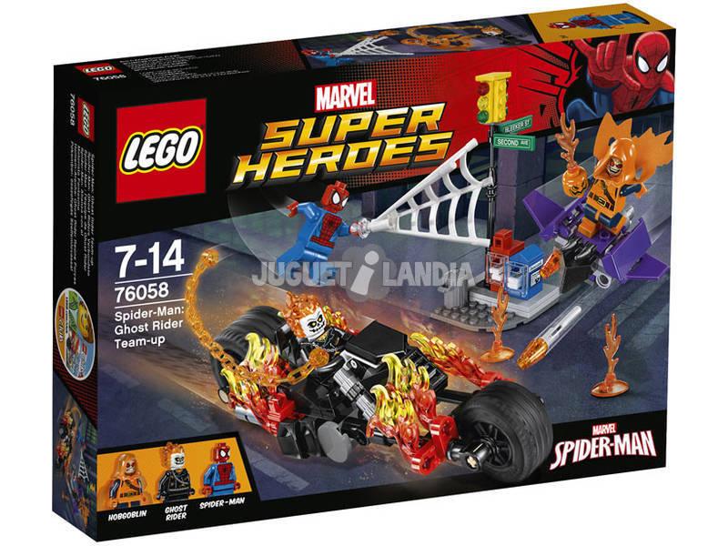 Lego SH Spiderman Alianza Motorista Fantasma