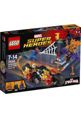 Lego SH Spiderman Alliance Motard Fantôme