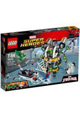 Lego SH Spiderman Trampa Tentaculosa Doc Ock