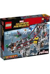Lego SH Spiderman Combate entre Guerreros Ara�a