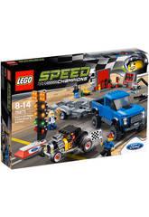 Lego Speed Champions Ford F-150 Raptor y Ford A