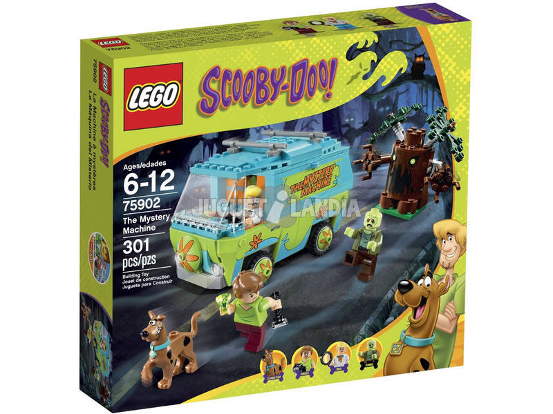 Lego Scooby Doo La Máquina del Misterio