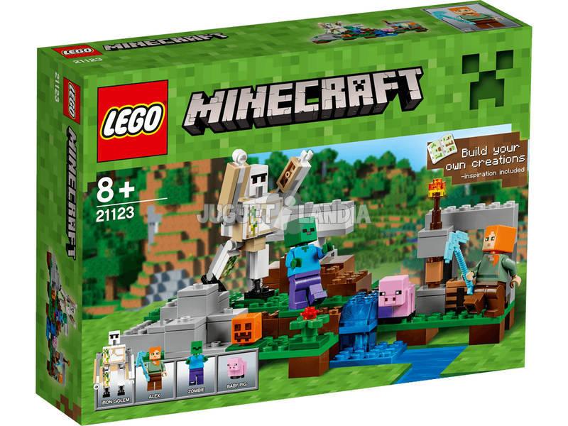 Lego Minecraft O Golem de Ferro